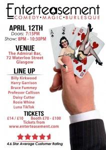 April show poster