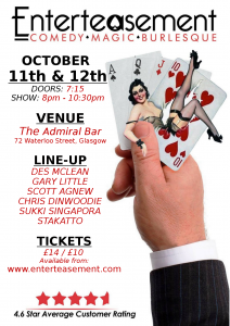 Show October 11th & 12th poster