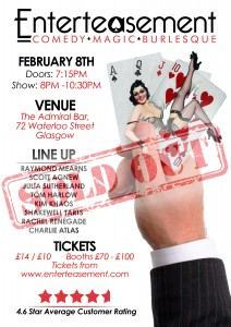 Sold Out February Poster